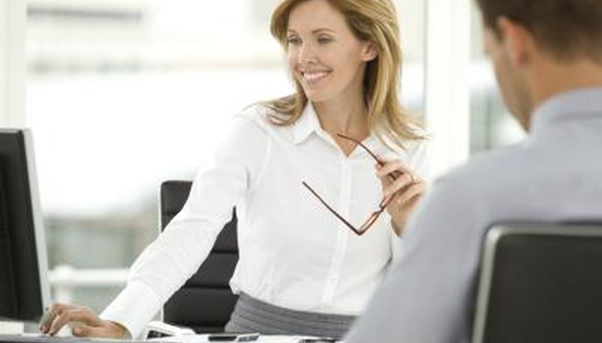 woman working in human resources