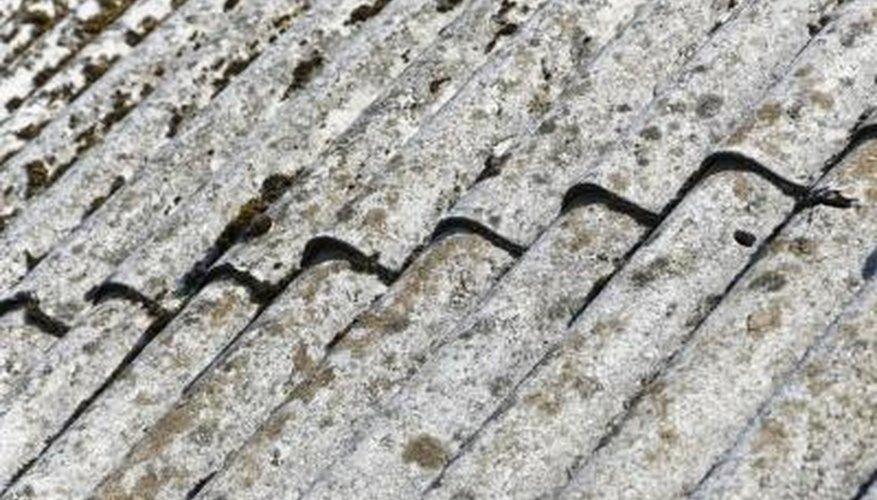 Old fiber tiles.