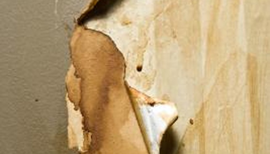 Stop paint from peeling by sanding down the edges and using a primer.