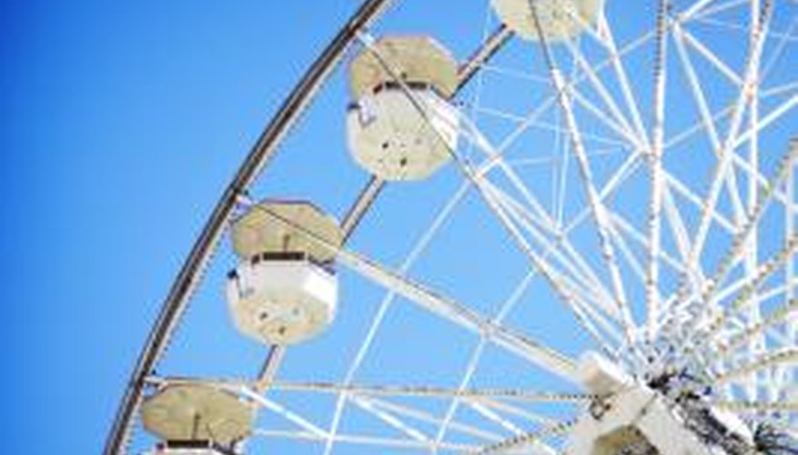 A Ferris wheel ride and a nice meal can make a date in Long Beach complete.