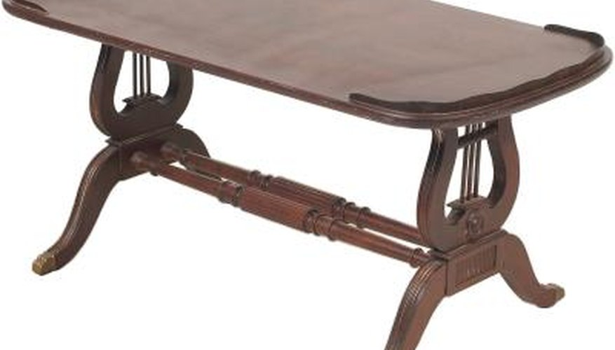 Remove polyurethane from furniture before refinishing.