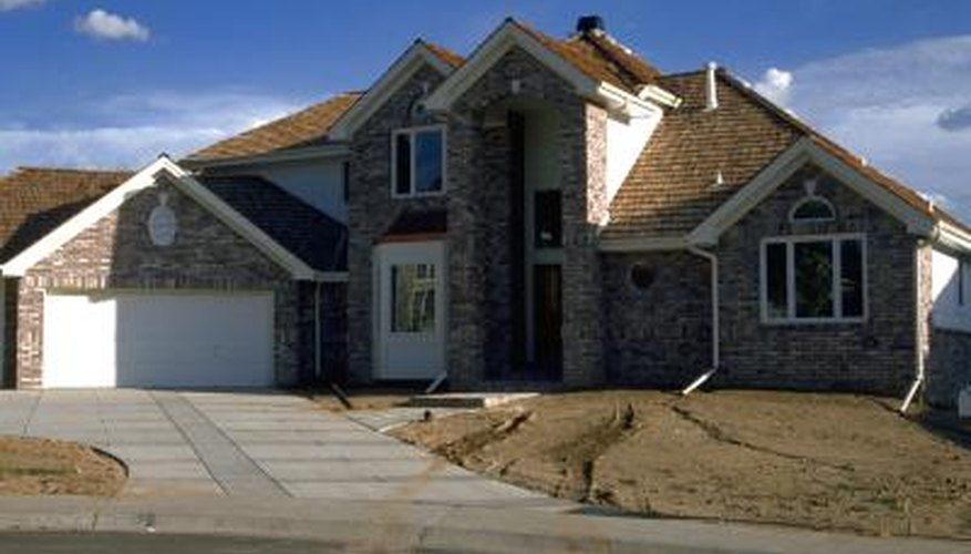 The roof for a garage costs less the one for the adjoining house.