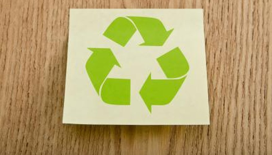 Recycle items large -- like a refrigerator -- and small.