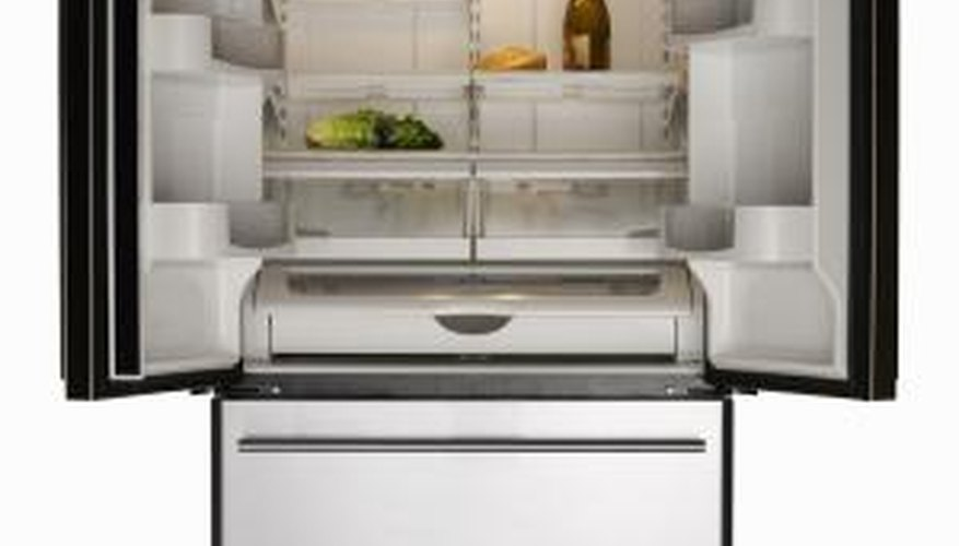 Refrigerator insulation prevents heat from entering interior compartments.