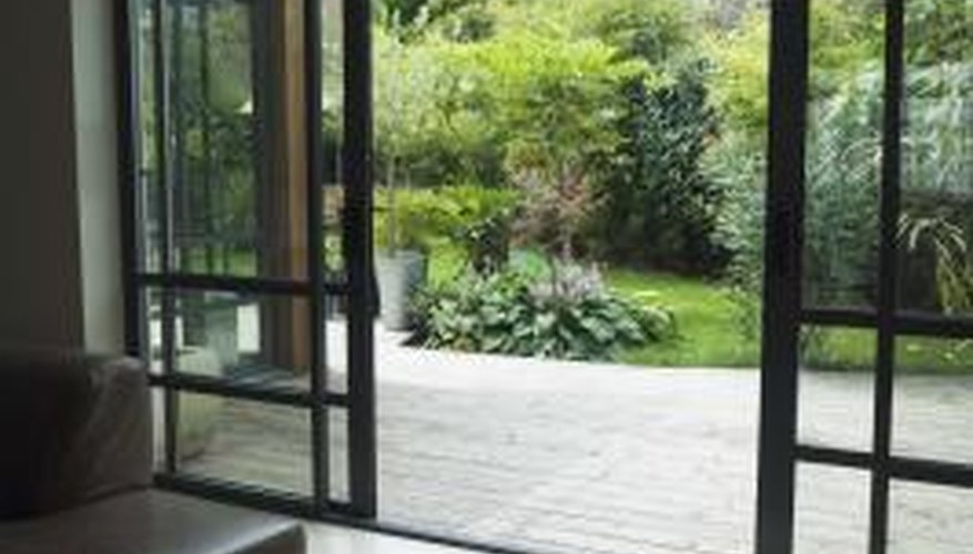 Evenly properly maintained doors can leak.