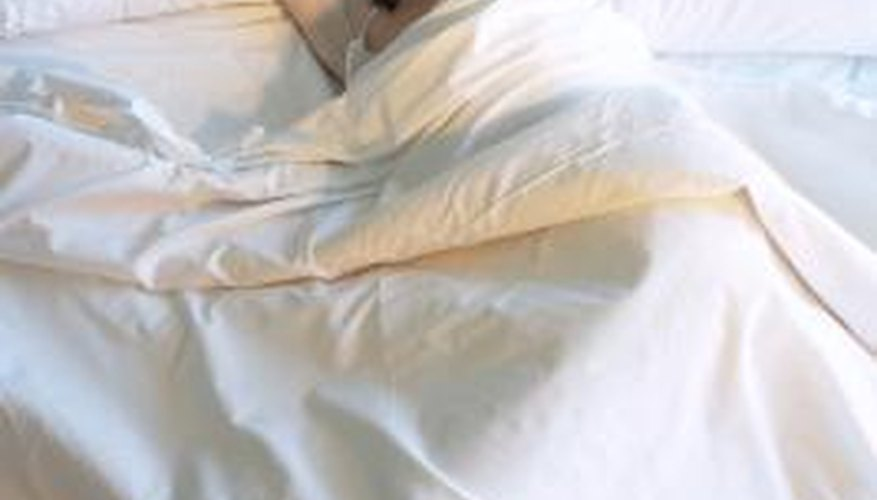 Organic cotton sheets were made with cotton grown without pesticide use.