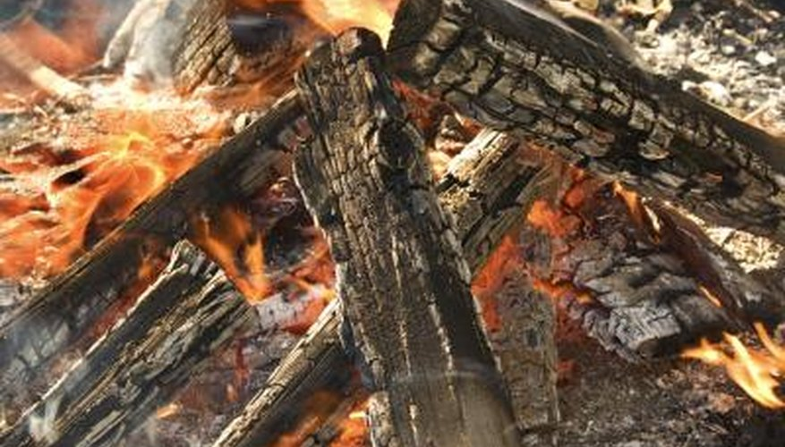 Open burning is regulated to protect land and air quality.