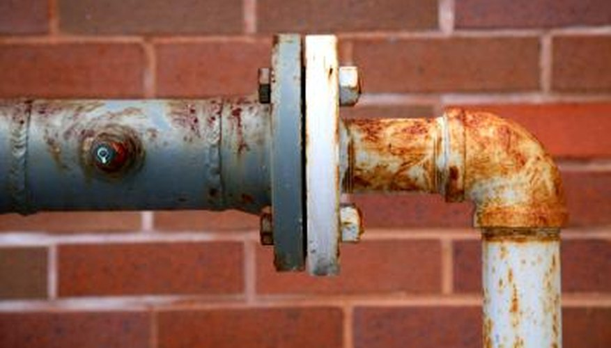 Replace old cast iron pipes that leak.
