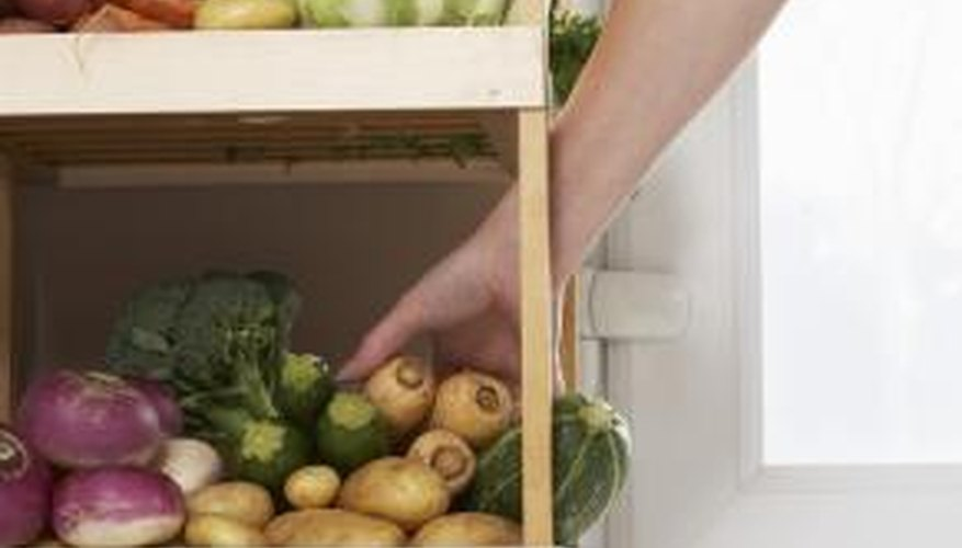 Vacuum seal your food in containers to provide preservation for extended storage.