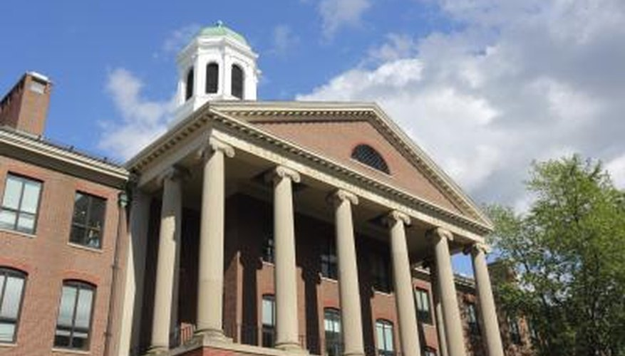 Harvard University awards scholarships based on the financial need of the applicant.
