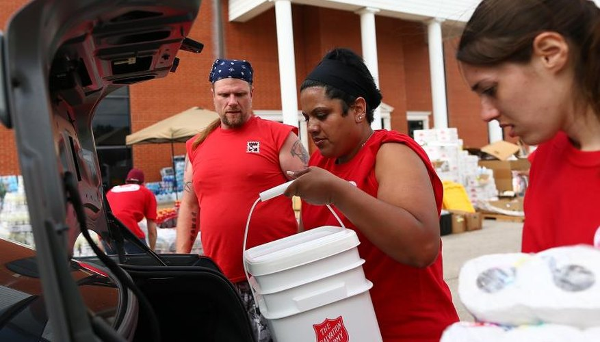 Salvation Army helping tornado victims