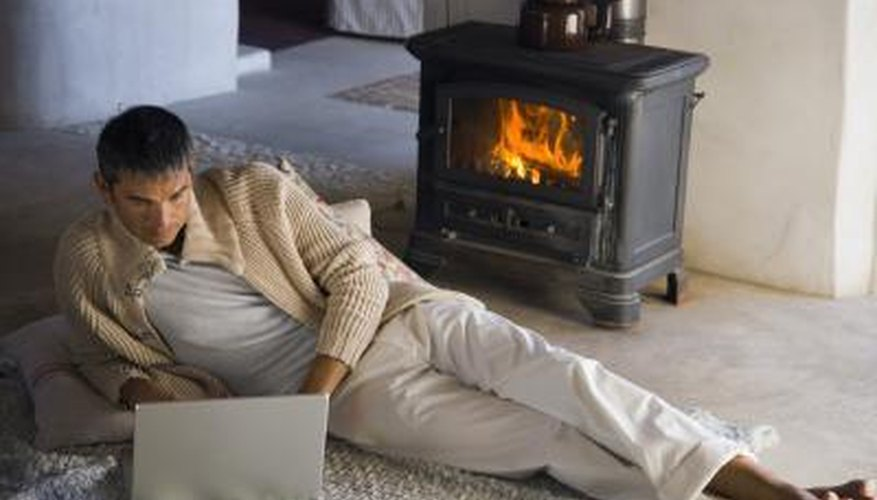 The smallest wood stoves heat spaces of up to 1,000 square feet.