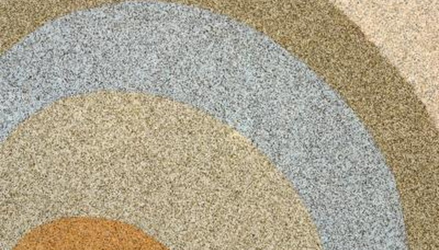 You can repair your pebble patio without a trace as long as you match the existing pebbles.