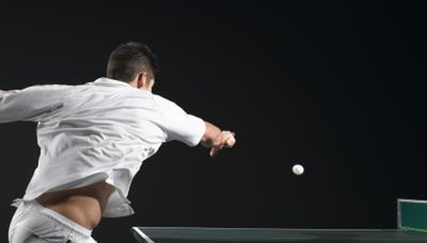 Rules & Regulations of Table Tennis