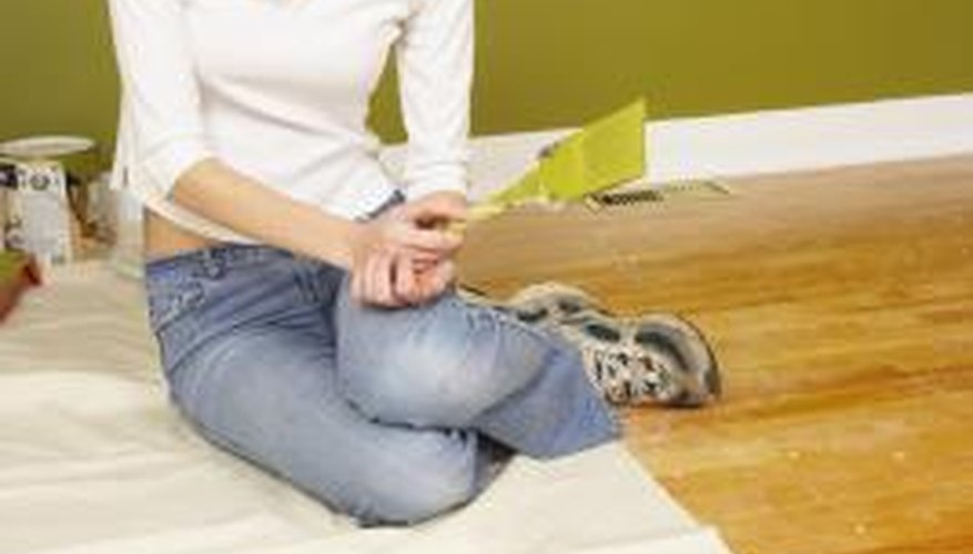 The standard formula for painting a room is to paint the walls in one color and the trim in a different color.