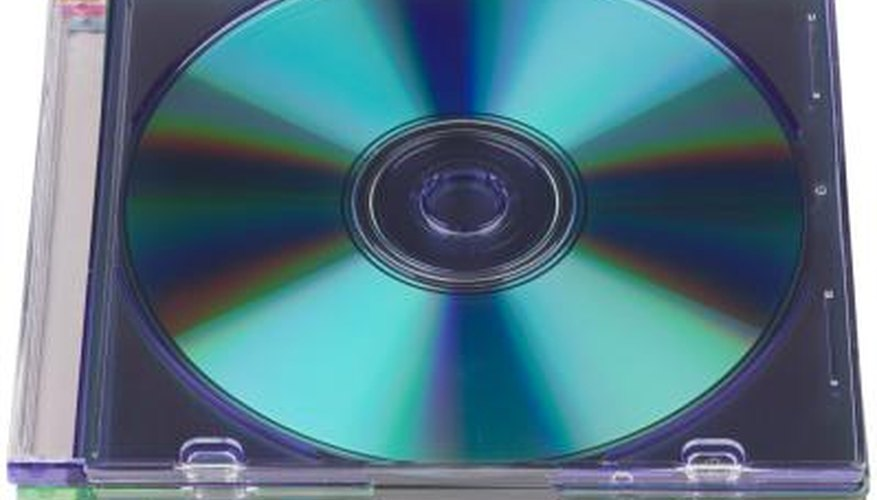 DVD's with computer software.