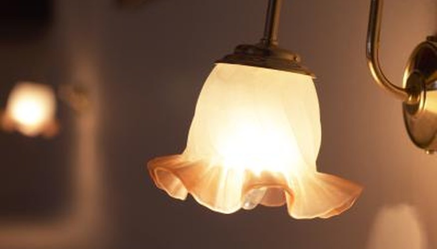 Light fixtures are just one of the many electrical devices in a modern home.