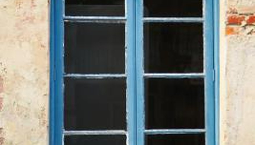 Casement windows open sideways, like doors, instead of the panes sliding up and down.