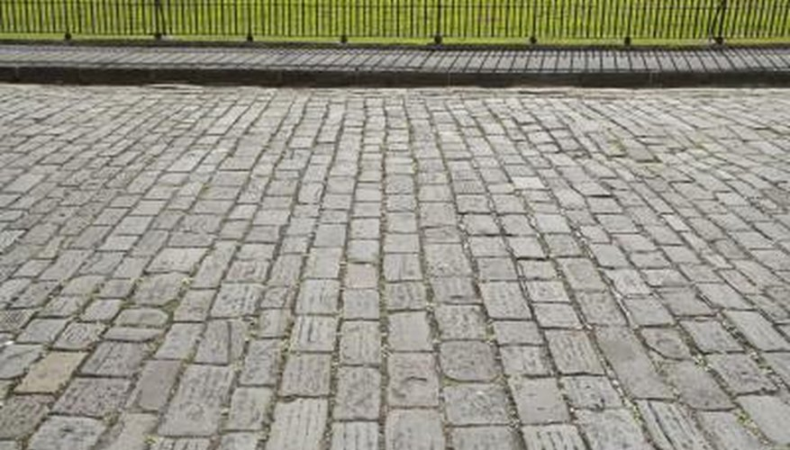 Build A Walkway In Your Yard From Patio Blocks Also Known As Patio Pavers.  They Come In Various Sizes, Colors And Textures To Match The Décor And  Style Of ...
