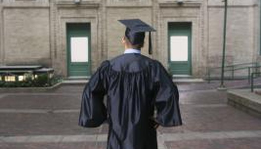 Graduate school is a goal for many college graduates.