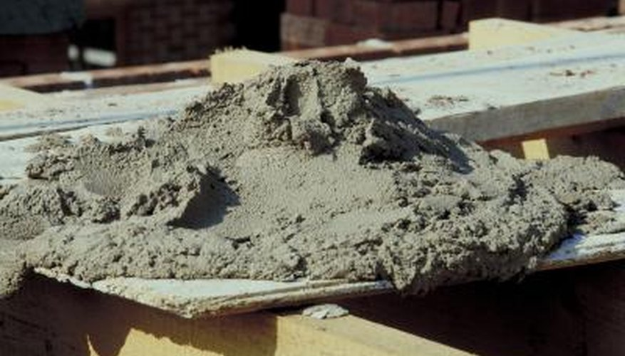 Add vermiculite to cure concrete with added strength.