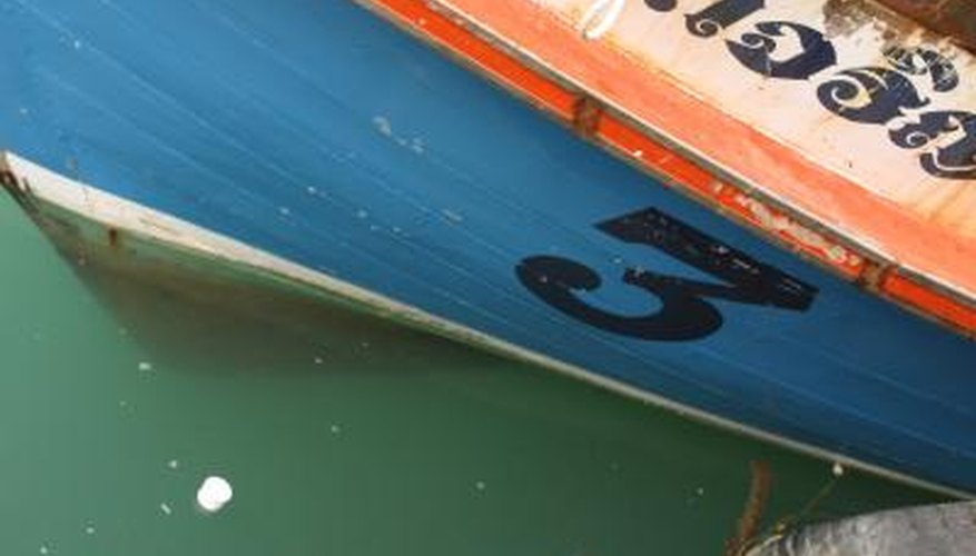 How to Apply Boat Numbers