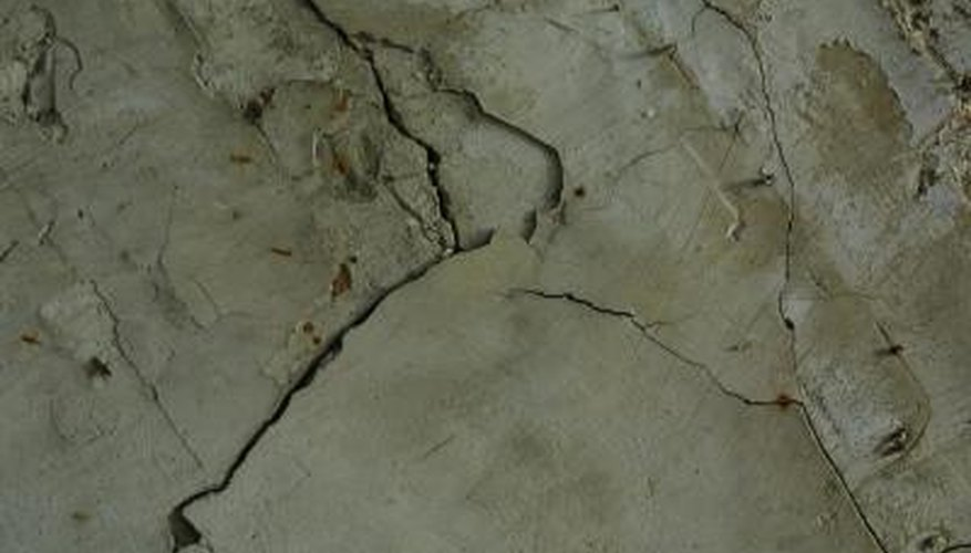 Incorrectly laid concrete slabs may crack under pressure.