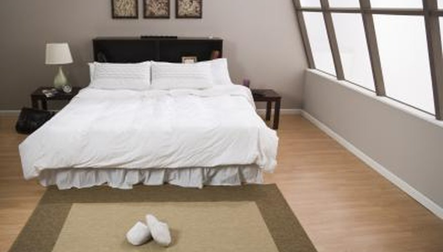 You might decide to make your temporary floor bed a permanent choice.