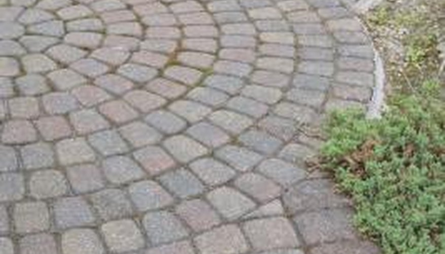 Pavers can be laid in a variety of traditional and freeform designs.