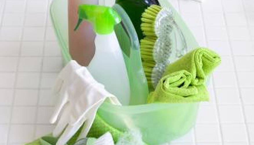 To avoid getting sick from your household cleaning products, read all product labels.
