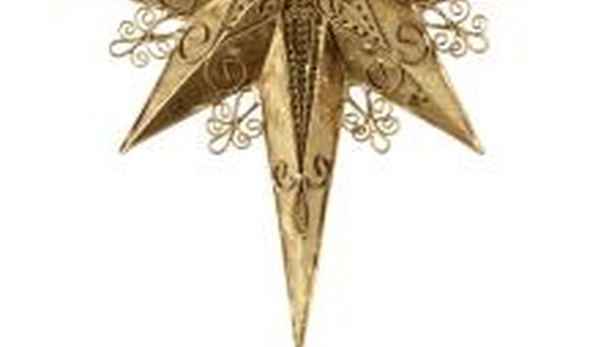 When viewed from above, the joints will look like this eight-pointed star.
