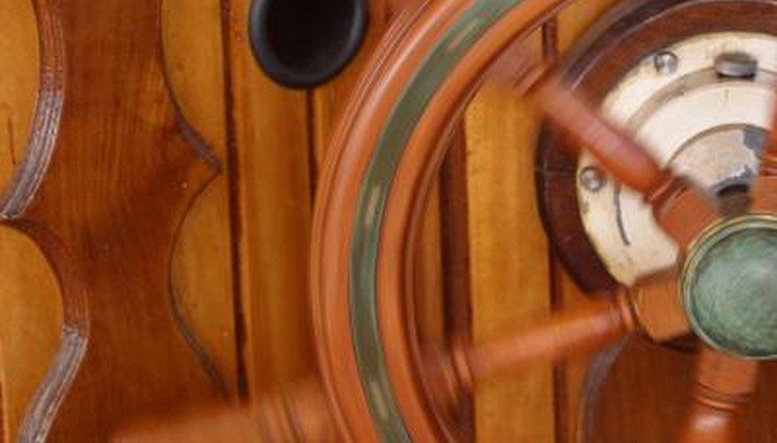 Boat Steering Wheel Removal