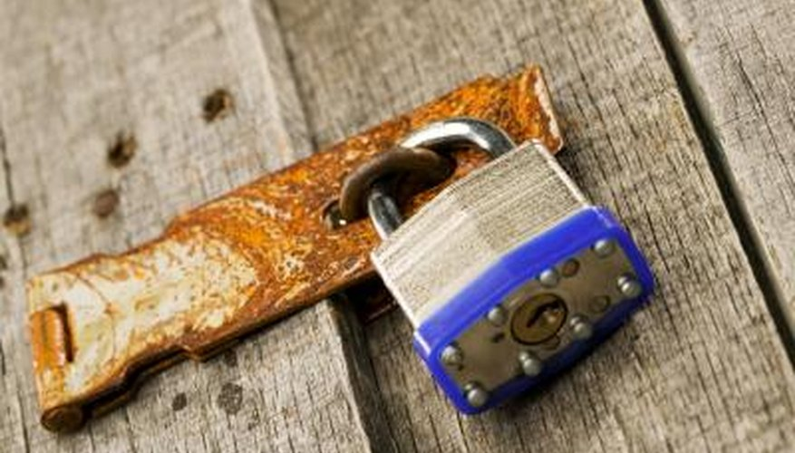 The right type of padlock can outlast the doors it locks.