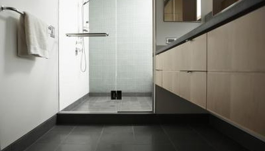 Tile Floors Offer Both Practicality And Beauty In The Bathroom.