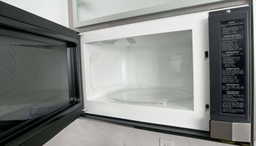 Get your microwave's interior spotless with steam.