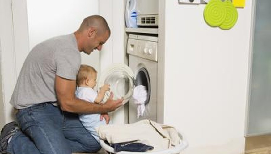 Stackable washer and dryer units can be a good fit in smaller homes.