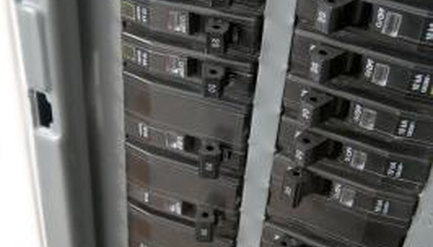Circuit breakers prevent electrical overloads.