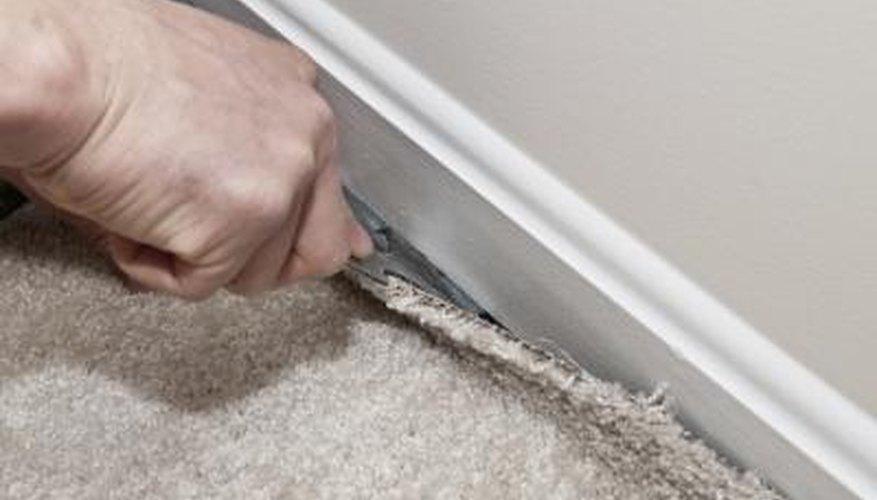 Professional carpet installers