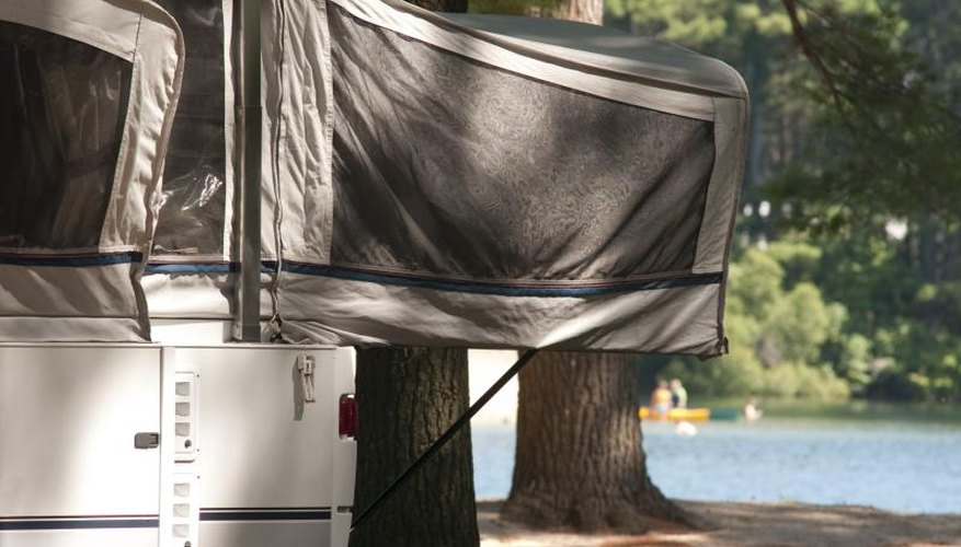 How to Replace the Velcro on a Popup Camper