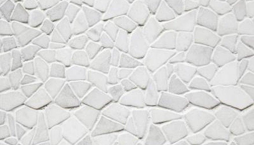 Cement tiles.