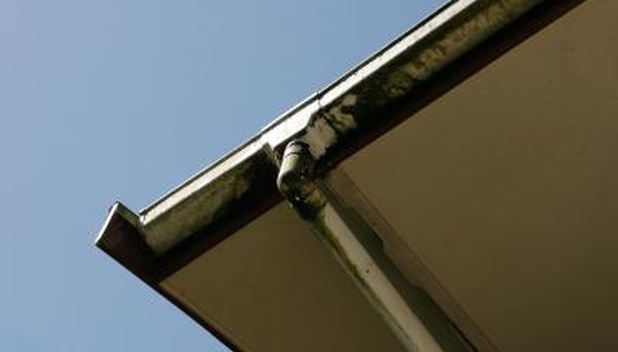 The average house has 120 to 250 feet of gutters.