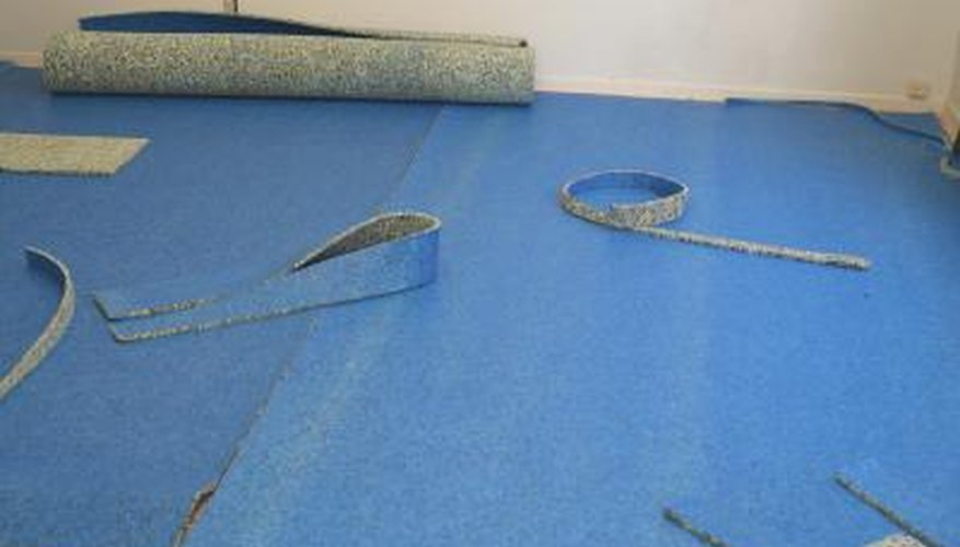 Carpet pad is laid underneath the carpet to make the flooring more comfortable