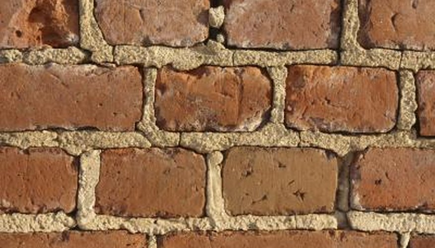 Missing mortar can damage your brick wall.
