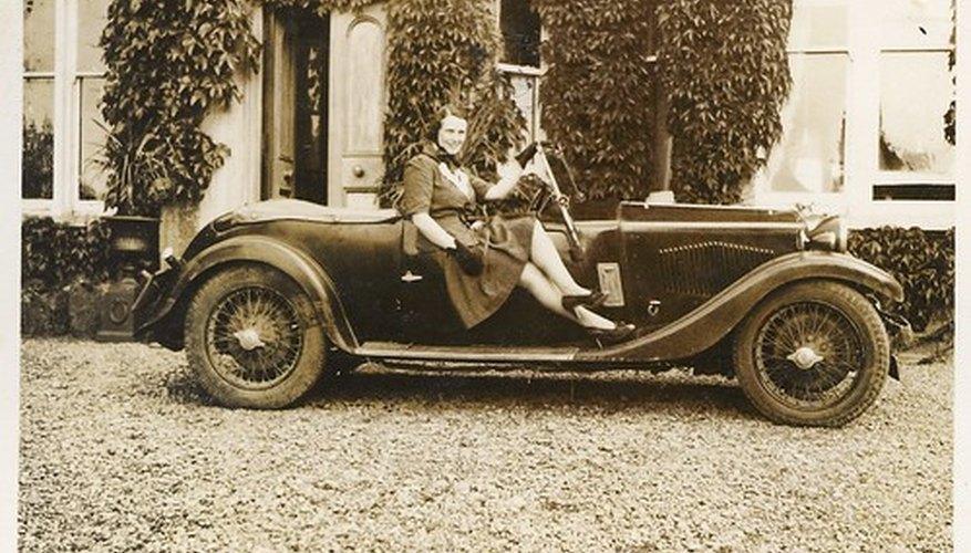 Los automóviles antiguos, como éste, no poseen sensores de posición del árbol de levas.