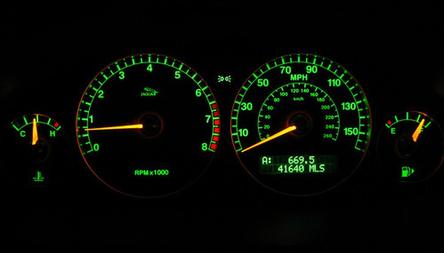 Automobile tachometer