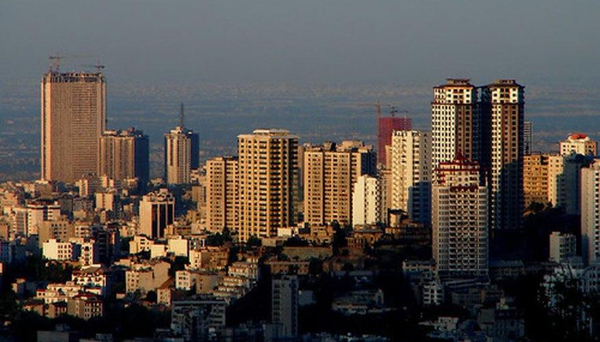 El acero permite la construcción de rascacielos.