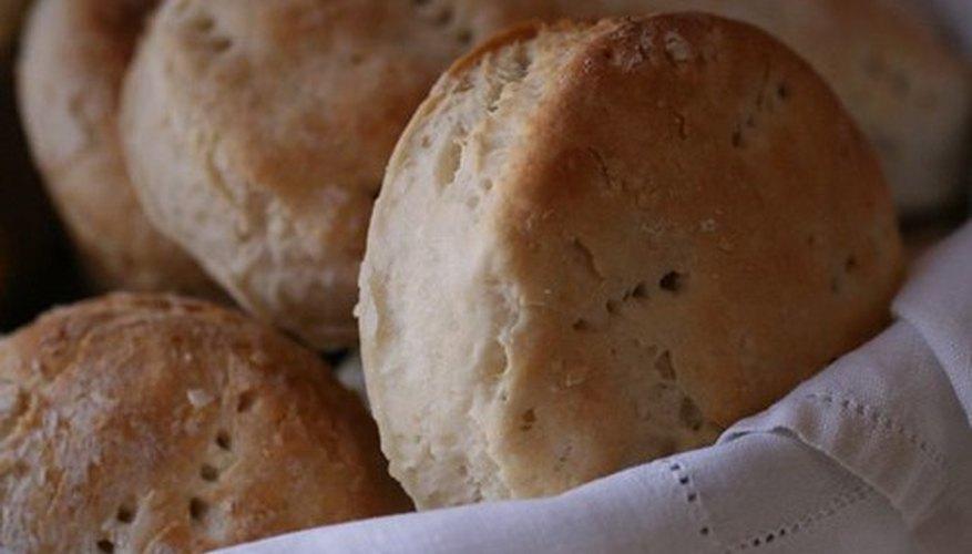 El suero de leche en polvo se puede usar para hacer galletas.