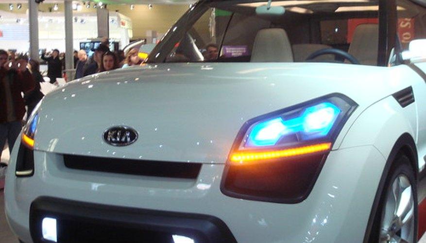 Concepto de auto Kia Soul