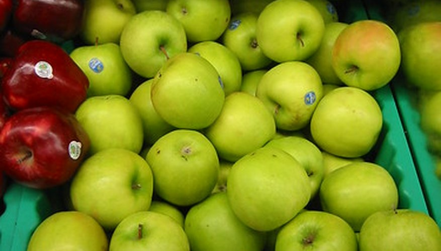 Granny Smith apples were developed in Australia, far from the apple tree's native lands.