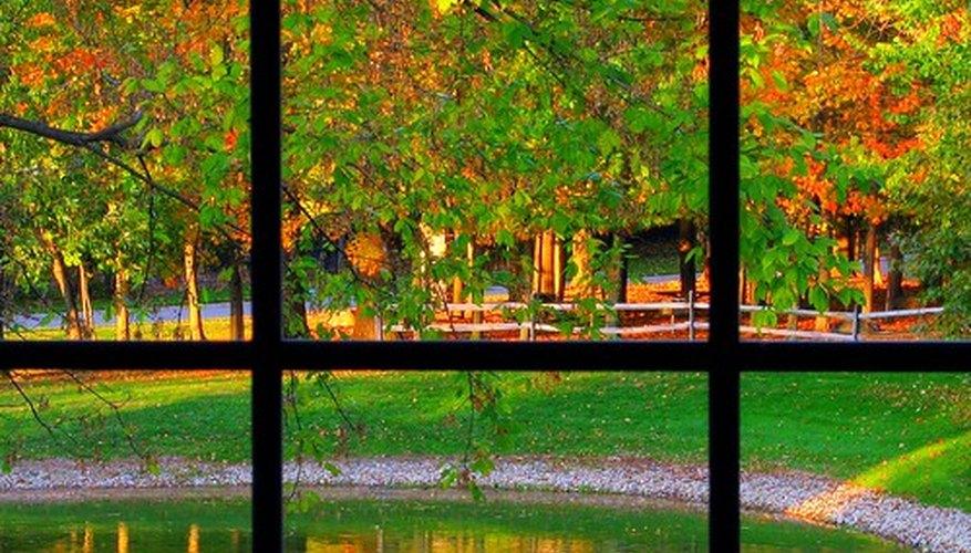 Las ventanas se hacen cada vez más de vidrio templado por razones de seguridad.